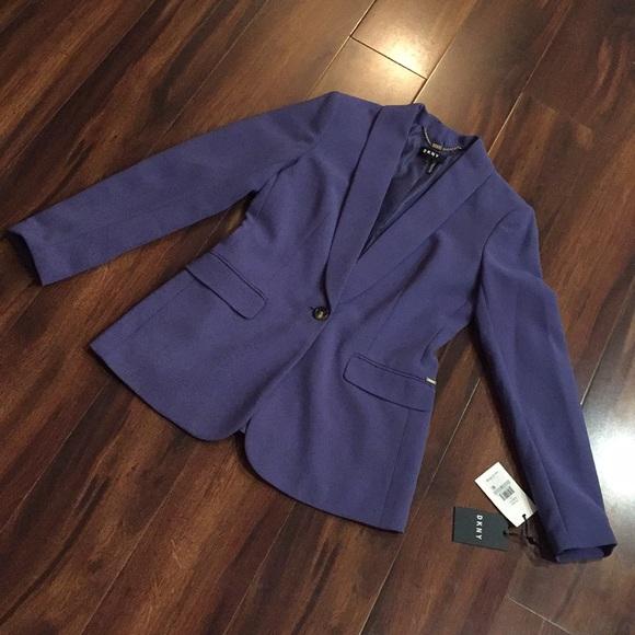 Dkny Jackets & Blazers - ❕NWT DKNY Blue Blazer Size 0